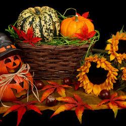 Пазл онлайн: Веселого Хэллоуина!