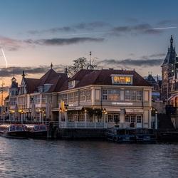 Пазл онлайн: Вечерний Амстердам