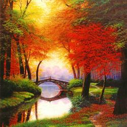 Пазл онлайн: Осенняя соната