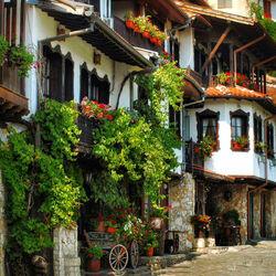 Пазл онлайн: По улицам старого города