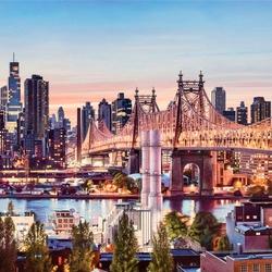 Пазл онлайн: Вечер в Нью-Йорке