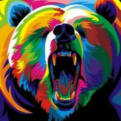 Пазл онлайн: Медведь