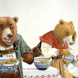Пазл онлайн: Кто ел из моей тарелки?