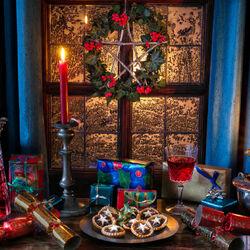 Пазл онлайн: Рождественские угощения