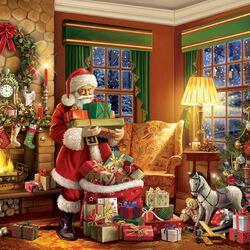 Пазл онлайн: Доставка подарков