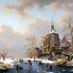Пазл онлайн: Игры на льду