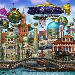 Пазл онлайн: Арафетийский город