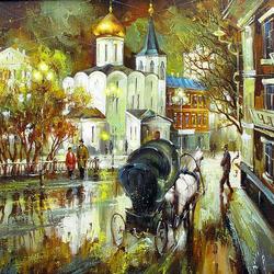 Пазл онлайн: Никольская Старообрядческая церковь