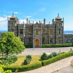 Пазл онлайн: Воронцовский дворец