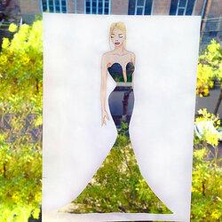 Пазл онлайн: Мисс осень