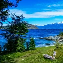 Пазл онлайн: Лето на озере