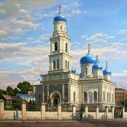 Пазл онлайн: Духосошественский собор