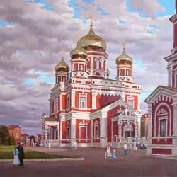 Пазл онлайн: Покровский храм