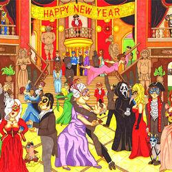 Пазл онлайн: Новогодний бал
