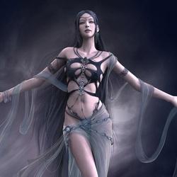 Пазл онлайн: Богиня Шая