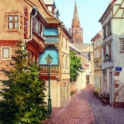 Пазл онлайн: Страсбург