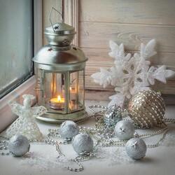 Пазл онлайн: Новогодний декор