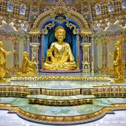 Пазл онлайн: Храм Акшардхам Дели