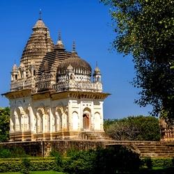 Пазл онлайн: Храм Парвати в Кхаджурахо