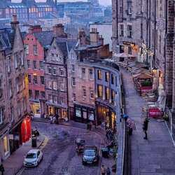 Пазл онлайн: Эдинбург
