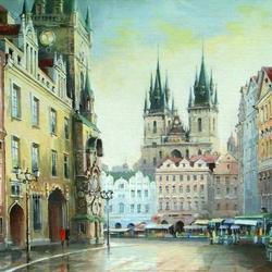 Пазл онлайн: Староместская площадь