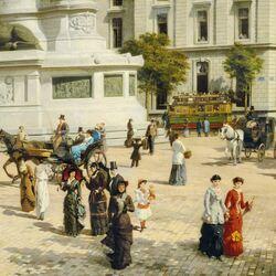 Пазл онлайн: Площадь Республики