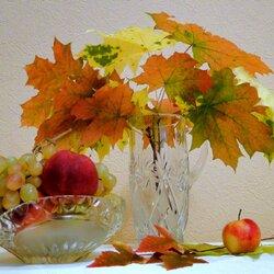 Пазл онлайн: Осенняя акварель