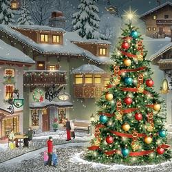 Пазл онлайн: Вечер Рождества