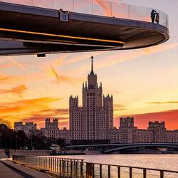 Пазл онлайн: Московские рассветы