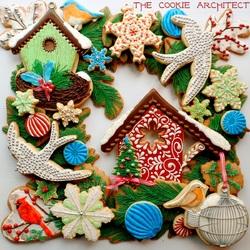 Пазл онлайн: Печенье к Рождеству