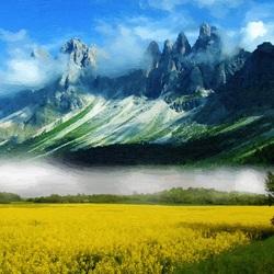 Пазл онлайн: Рельефы Земли