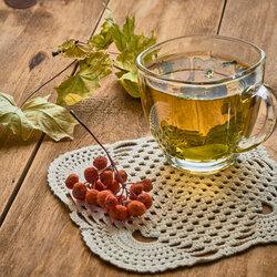 Пазл онлайн: Чай по осеннему