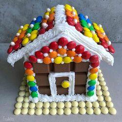 Пазл онлайн: Шоколадный домик