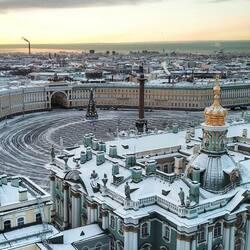 Пазл онлайн: Дворцовая площадь