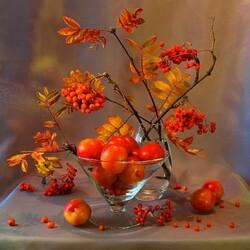 Пазл онлайн: Осенние дары