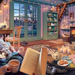 Пазл онлайн: Уютный сарай