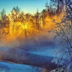 Пазл онлайн: Мороз и солнце