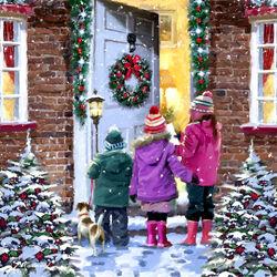 Пазл онлайн: Рождественские песнопения