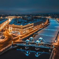 Пазл онлайн: Мост Ломоносова