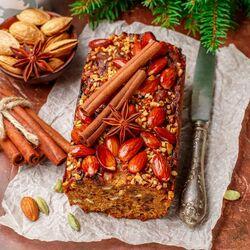 Пазл онлайн: Пирог с пряностями