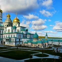 Пазл онлайн: Новоиерусалимский монастырь