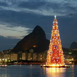 Пазл онлайн: Рождество в Бразилии