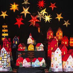 Пазл онлайн: Рождественский прилавок в Кёльне