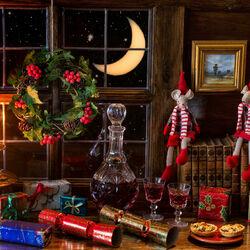 Пазл онлайн: Очарование Рождества