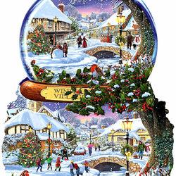 Пазл онлайн: Снежный шар