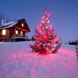 Пазл онлайн: Рождество в Карелии