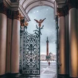 Пазл онлайн: Зимний дворец