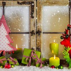 Пазл онлайн:  Новогоднее убранство