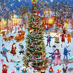 Пазл онлайн: Новогодняя елка