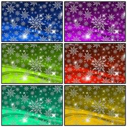 Пазл онлайн: Снежинки